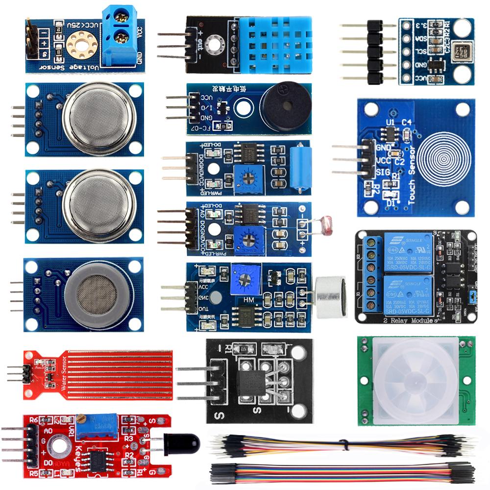 16 in 1 Smart Home Sensor Kit for Arduino Raspberry Pi